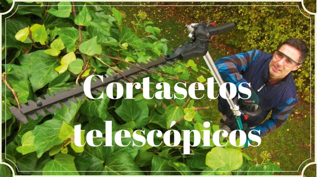 cortasetos telescopico